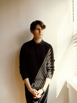 Ezra Koenig, Vampire Weekend, musician, celebrity, new york, new york city, rockstar, artist, portrait, dustin aksland