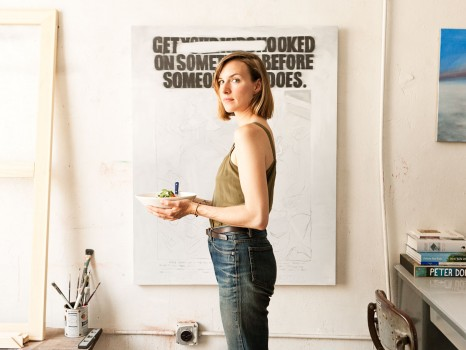 alisa wagner, chef, dimes, dimes nyc, artist, art, new york city, ny, brooklyn, dustin aksland, portraits, food, foodie