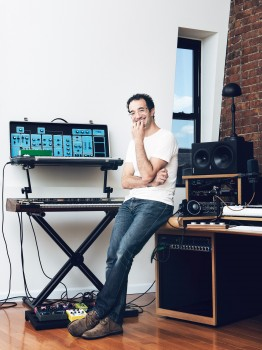 Jad Abumrad, radio lab, nor, radio, artist, art, new york city, ny, brooklyn, dustin aksland, portraits