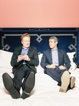 Conan O'Brien, Andy Cohen