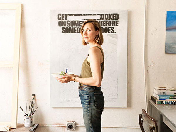 alisa wagner, dimes, resturaunt, new york city, nyc, chef, celebrity, portrait