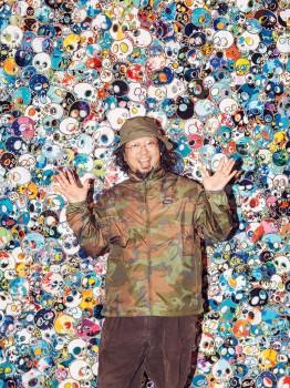 portrait, Dustin Aksland, Takashi Murakami, artist, contemporary art, tokyo, japan, gagosian gallery