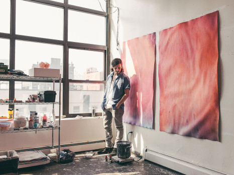 portrait, Dustin Aksland, ben weiner, art, artist, contemporary art, new york city, nyc