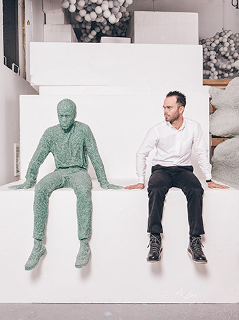 Daniel Arsham, contemporary artist, artist, nyc, new york city