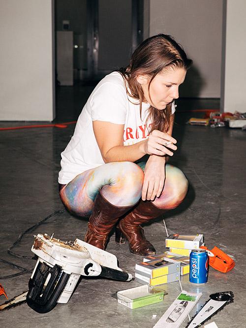 Claudia Comte, artist. contemporary art, female artist, new york city